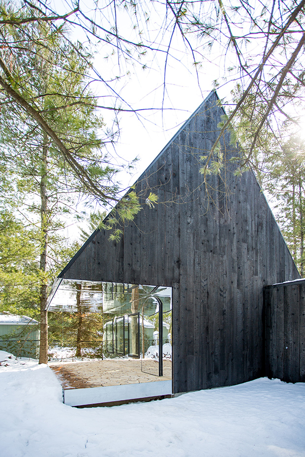 Why Would An Architect Burn A Wooden Building Karole Biron